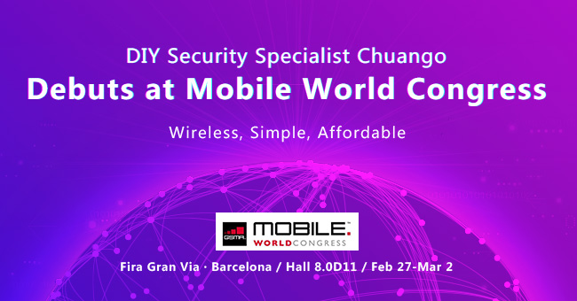 Chuango Demonstrates Latest Home Security Solutions at Mobile World Congress