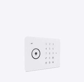 GSM/SMS/RFID Touch Alarm System