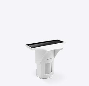 Solarbetriebener Dual-Tech-Bewegungsmelder